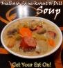 For Recipe Click Here - Kielbasa Sauerkraut N Dill Soup