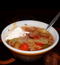 For Recipe Click Here - tTt's Spicy Cabbage Soup (The Best Spicy Cabbage Soup)