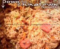 For Recipe Click Here - Down to Chinatown Noodles (Chicken Yakisoba)