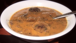For Recipe Click Here - Fungi Soup (Mushroom Soup) – Only Soup a Fun Guy can Get a Life and Grow Up!