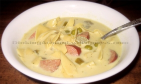For Recipe Click Here - Tay's Tickle Your Pickle Soup (Smooth and Hearty Dill Soup)