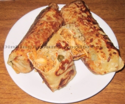 For Recipe Click Here - Chipotle Roll-AY! (Chipotle Chicken and Rice Wraps)