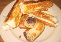 For Recipe Click Here - Bean and Rice Rolls