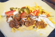 For Recipe Click Here - The Cow's Magical Fruit Roll Ups (Beef and Bean Taco Egg Rolls)