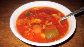 For Recipe Click Here - Spa-ghett-A-Bout-It Soup (Spaghetti Soup)