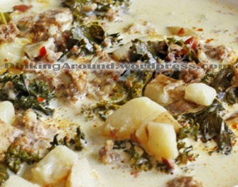 For Recipe Click Here - Toscana O'Man-Ah! Soup – Nice kick to it!