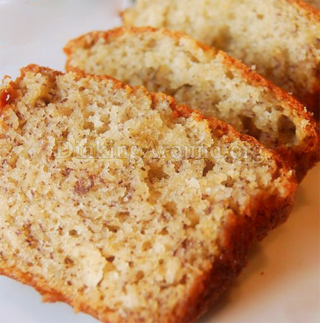 For Recipe Click Here - Banana Wamma Bread (Banana Bread) with Crumb Topping