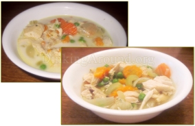 For Recipe Click Here - Lemony Soupket (Lemon Chicken Noodle Soup)