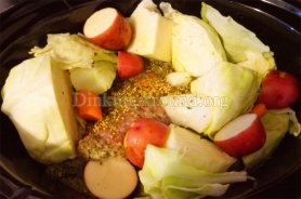 For Recipe Click Here - Ye Fluthered Pot O' Cattle (Irish Corned Beef and Cabbage)