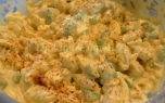 For Recipe Click Here - Dat Poos-ta's the DEVIL! (Deviled Egg Pasta Salad)