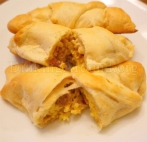 For Recipe Click Here - Egg on the Moons (Cheesy Egg Crescent Rolls)