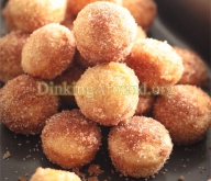 For Recipe Click Here - DO NOTS! Because you can't eat just one! (Easy Mini Donuts Holes)