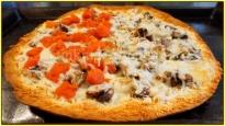 For Recipe Click Here - tTt's Fungi Pie (Mushroom and Parm. Pizza Pie)
