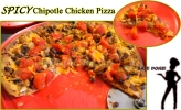 For Recipe Click Here - HOLAY MOLAY ChipotLE (Spicy Chipotle Pizza)