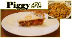 For Recipe Click Here - Piggy Pie (Ham N Sweet Potato Pie)