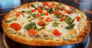 For Recipe Click Here - Chicken Florentine Pizza Pie with Florentine SAUCE
