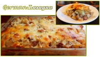 For Recipe Click Here - Man-sagna (German Lasagna)