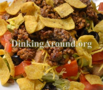 For Recipe Click Here - Frito Taco Salad