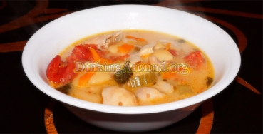 For Recipe Click Here - Louisiana Hot Chicken Drum Soup