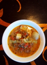 For Recipe Click Here - The Juiciest Burger Soup (Cheese Burger Soup)