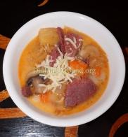 For Recipe Click Here - Reuben Soup