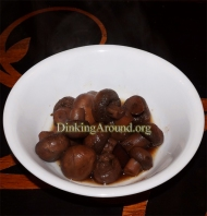 For Recipe Click Here - Balsamic N Wine Mushrooms