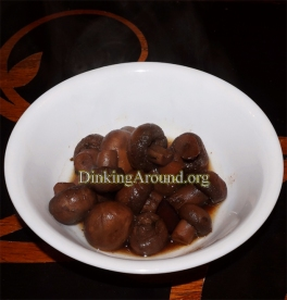 For Recipe Click Here - Balsamic N Wine Mushrooms
