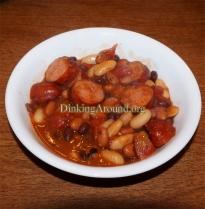 For Recipe Click Here - Cheesy Brat Bean Dish