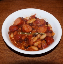 For Recipe Click Here - Cheesy Brat Bean Dish
