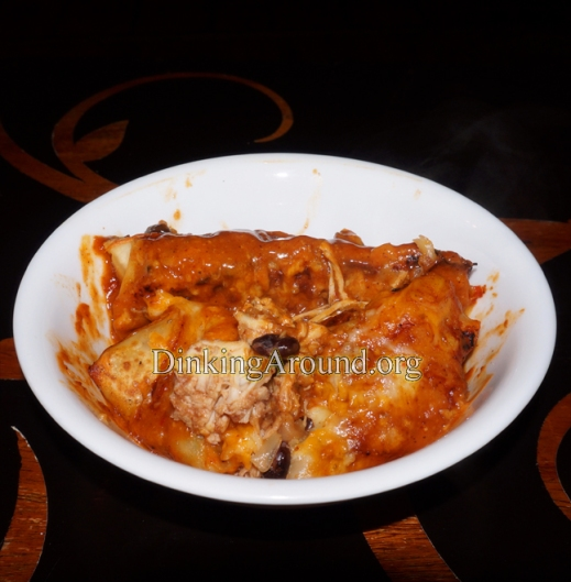 For Recipe Click Here - En-Cheesi-Lada (Low-er Carb N Cal Cheesy Enchilada)