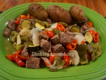 For Recipe Click Here - Steak Kabobs (Unstabbed Bobs)