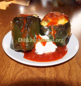 For Recipe Click Here - Egg Stuffed Poblano