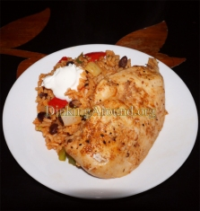 For Recipe Click Here - Mexi Fried Rice w Marinated Chicken