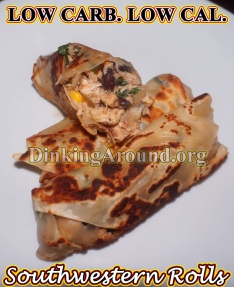 For Recipe Click Here - Round em' Up Rolls (Southwestern Egg Rolls)