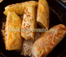 For Recipe Click Here - Healthified Cheesy Basas (Cheesy Kielbasa N Cabbage) - Do Search for MORE Egg Roll, Cabbage Roll, Wrap Recipes!
