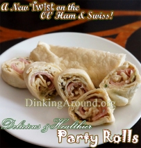 For Recipe Click Here - The Swiss Pig Rolls (Swiss Ham Rolls)