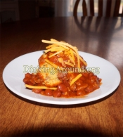 For Recipe Click Here - Chilied Muff N' Weiners (Healthier Chili Corn Dogs)