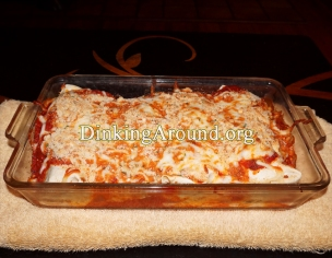 For Recipe Click Here - Chicken Parmesan Smoothered Wraps