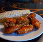 For Recipe Click Here - Twisted HootTter's Wings with Mexi Street Corn