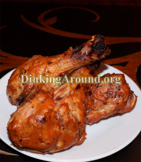 For Recipe Click Here - Woo Woo Chickin Chickin Woo Woo Chicken Legs (Mustard Legs and EASY BBQ Legs)