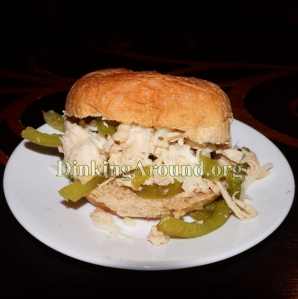 For Recipe Click Here - Tay's Philly's Chickies (Chicken Philly Cheese Sandwich)
