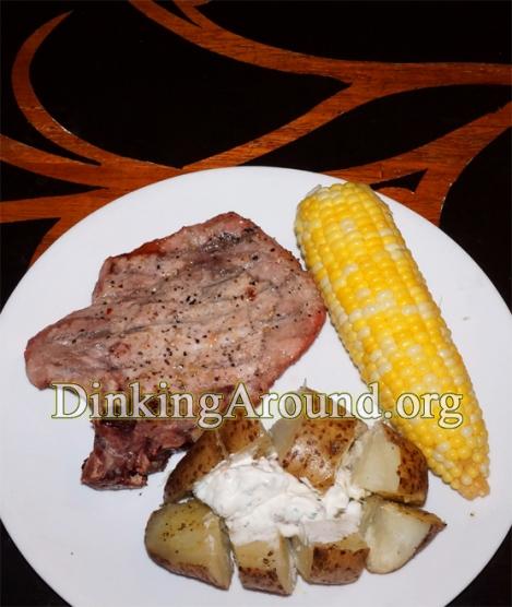 For Recipe Click Here - Quicky Porkie (Quicker Grilled Pork, Potato, N Corn)