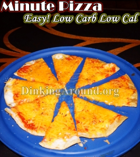 For Recipe Click Here - In it to Win It! Then Eat It! Pizza in a MINUTE…
