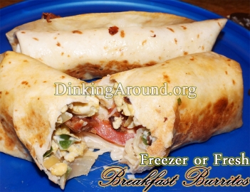 For Recipe Click Here - Egg Burritos- A part of Vacation Meals
