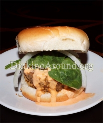 For Recipe Click Here - Buffsters (Buffalo Chicken Burgers)