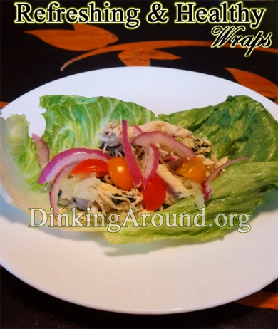For Recipe Click Here - Easy Breezy Greekies (Refreshing and Healthy Wraps)