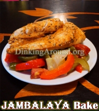 For Recipe Click Here - Mama's Jamba-Bake-ah (Jambalaya Bake)