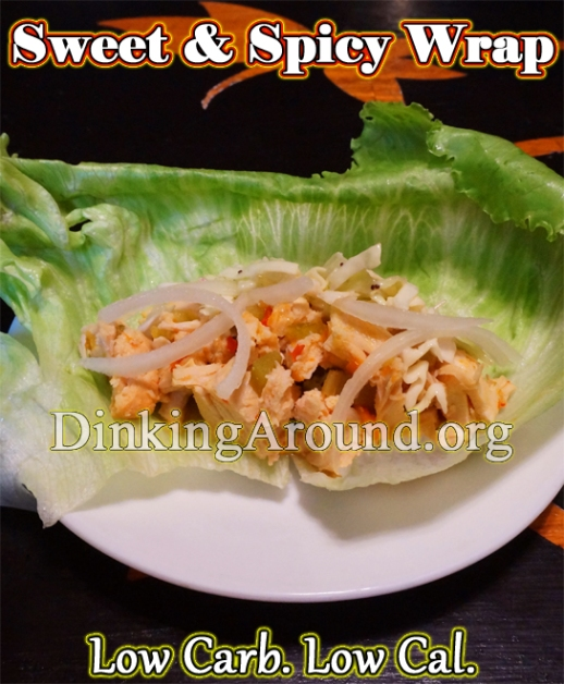 For Recipe Click Here - Kicking Angels (Sweet and Spicy Chili Chicken Wraps)