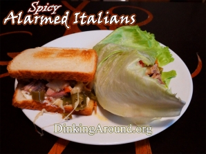 For Recipe Click Here - Alarmed Italians (Spicy Italian Wiches or Wraps) – Mild Option Available