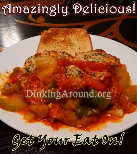 For Recipe Click Here - Parmesan Tomatoed Chicken N Vegis